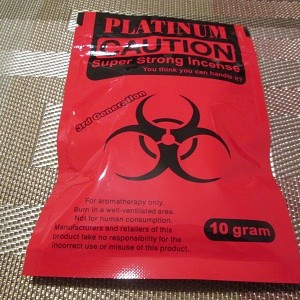 Platinum Caution Strong Red 10 Grams 1